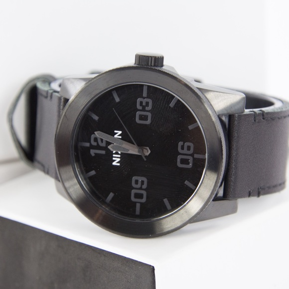 Nixon Other - Nixon Corporal A2431147 Watch Black/Black Leather